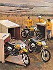 1973 SUZUKI TM-125K TM-250K TM-400K SALES AD/ BROCHURE