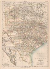 Texas Antique North America Maps & Atlases