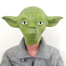 Star Wars Movie Yoda Unisex Costume Cosplay Adult Halloween Fancy Dresses Masks