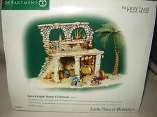 Dept 56 The Holy Land, Bethlehem - Spice & Copper Vendor's Colonnade - 3 Pc Set