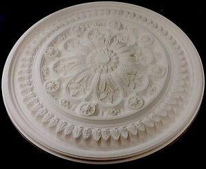Plaster Ceiling Rose, Star Leaf CP18. 940mm wide.