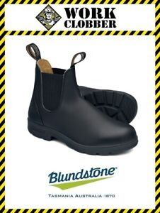 Blundstone Black Elastic Sided Premium Leather Boot 610 NEW IN BOX!
