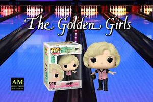 Funko Pop TV - le Golden Girls - Bowling Outfit - Rose - Figurine -