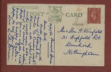 H Winfield, 31 Highfield Road, Dunkirk, Nottingham 1952 - Brown qh148