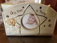 "Lenox ""A Star Is Born Frame"" Baby Picture Frame - 2.5"" x 2.5"""