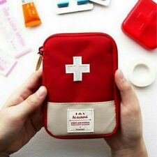 Portable First Aid Kit Bag Case Outdoor Camping Home Survival Pouch Carry Travel