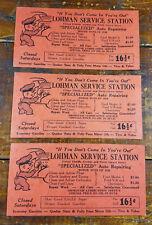 1950s Lohman Service Station Florida Ave North Girard St Hemet CA California