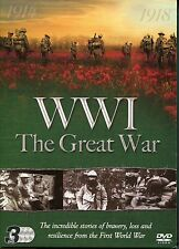 WW1 THE GREAT WAR 1914 - 1918 BBC'S SOMME SECRET TUNNEL WARS &MORE 3 DVD BOX SET