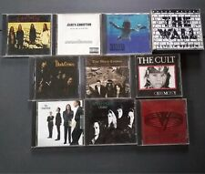 10 Rock and Roll Audio Cds, Black Crowes, Candlebox, Jane's Addiction, Van Halen
