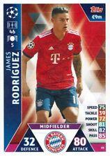 Topps Match Attax Champions League Karte Nr. 85 Rodriguez FC Bayern München
