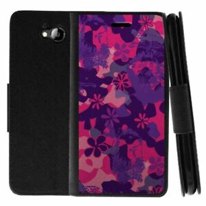 For ZTE Majesty Pro Leather Flip Wallet Case Stand Cover w/ Card Slots Holder