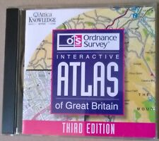 OS Interactive Atlas of Great Britain Third Ed.1998 CD Rom