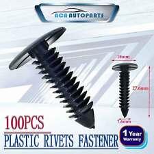 Fit Ford AU BA BF FG Plastic Mud Flap Clip Retainer Falcon XR6 XR8 FPV G6E x100