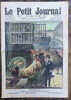 Le Petit Journal N° 1002 du 30/01/1910 - CHANTECLER