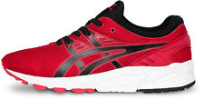 NWT ASICS TIGER GEL-KAYANO TRAINER EVO H5Y3Q RED BLACK RUNNING SHOES MEN'S SZ 12