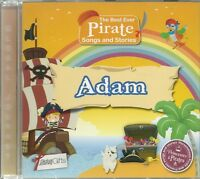 ADAM THE BEST EVER PIRATE SONGS AND STORIES PERSONALISED CHILDREN'S CD