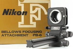 [MINT in Box] Nikon F Bellows Focusing Attachment PB-6 w/ Manual from JAPAN