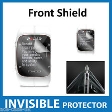 Polar M400 Smart Watch INVISIBILE Front Screen Protector Shield-Military Grade