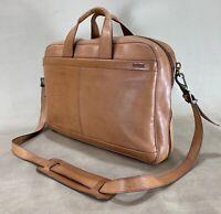 """Hartmann Belting Leather 16"""" Briefcase Messenger Bag"""