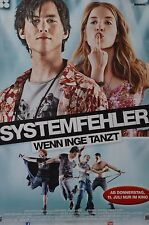 SYSTEMFEHLER - A3 Poster (ca. 42 x 28 cm) - Film Wenn Inge Tanzt Clippings NEU