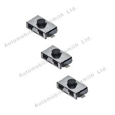Para Mini Remoto Clave Fob Conjunto de 3 micro interruptores de 2 - 3 Teclas botón remoto de coches