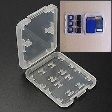 8 Slots Waterproof Plastic Holder Storage Memory Card Case Micro SD SDHC MS Box