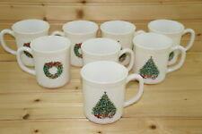 """Salem Noel Christmas Tree (8) Mugs, 3 1/2"""""""