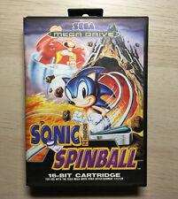 Sonic Spinball (PAL) [solo caja] [SEGA Mega Drive]