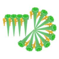 18x Automatic Watering Spike Plant Water Drip Garden Cone Irrigation Bottle Set
