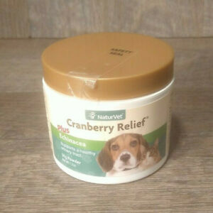 NaturVet Cranberry Relief for Dogs & Cats UTI Urinary Tract Infection 50. Gram