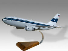 Airbus A310 Kuwait Airways Solid Mahogany Wood Handcrafted Desktop Model