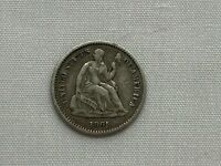 1861 Half Dime  USA Philadelphia Mint Silver Coin