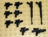 Lego Star Wars  Minifigures 10pcs blasters, weapons,guns - New