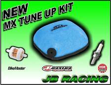 1989-2001 Honda CR 125R Tune Up Kit Maxima Air Filter+NGK Spark Plug+Fuel Filter