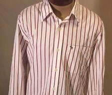 Ambercrombie & Fitch New York Muscle Long Sleeve Button Up Dress Shirt Size XXL