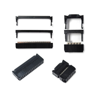 6/8/10/12/14-50Pin FC IDC Socket Plug Ribbon Cable Connector Pitch 2.54mm