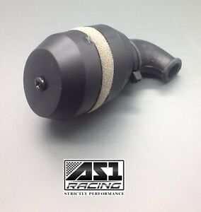 1/10 Scale Oval RC Nitro Engine Air Filter Buggy Truggy Car Truck BlacK