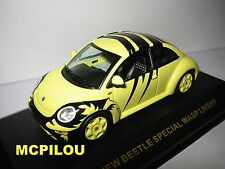 IXO MOC007 VW NEW BEETLE SPECIAL WASP LIVERY au 1/43°.