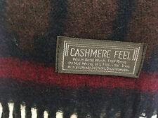 Ladies Cashmere Feel Tartan Scarf BNWOT