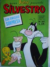 Bugs Bunny presenta SILVESTRO n°34 1970 edizioni Cenisio    [G287] con INSERTI