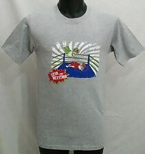 Wrestling Mexico LUCHA LIBRE T Shirt Size Men's XS/SMALL Gray Tee NWT