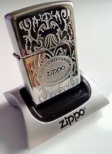Crown Stamp Gleaming Patina Zippo. Free U.K. postage. Signed for secure delivery