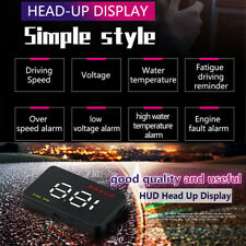"3.5"" OBDII Car HUD head-up display Vehicle data monitoring meterplug and play"