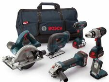 Bosch BAG+6RS 18v 6 Piece Cordless Tool Kit w/3 x 5.0Ah In LBAG+ - 0615990H98
