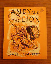 Viking Seafarer Book Andy and The Lion by James Daugherty