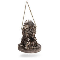 GAME OF THRONES CHRISTMAN ORNAMENT HOLIDAY IRON THRONE SWORD FIGURE STATUE #1