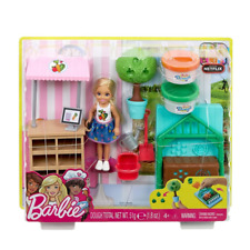 Barbie FHK97 club Chelsea Pet Bambola 2 Pack FASHION Playsets NUOVO CON SCATOLA NAVI VELOCI