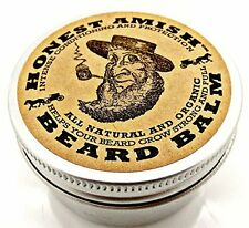 Honest Amish Beard Balm - Men's Leave-in Beard Conditioner and Tamer