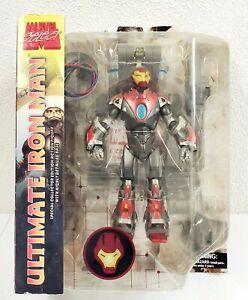 "2008 Diamond Select Marvel Select Ultimate Iron Man 7"" Action Figure"