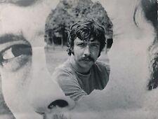 Musique chanteur Gilles Dreu tirage argentique d'époque photomontage